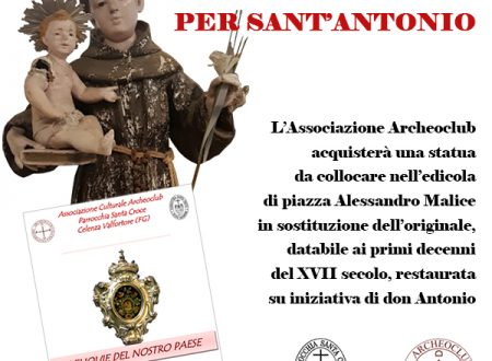 Le reliquie del nostro paese per Sant'Antonio