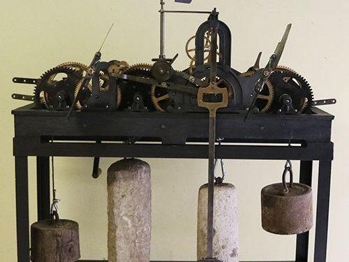Restaurata la macchina orologio di Alfonso Sellaroli